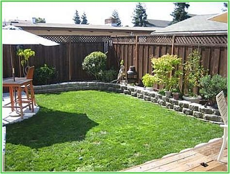 awesome small backyard landscaping on a budget home