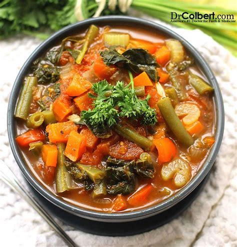 Dr Colbert Detox Recipes detox vegetable soup dr colbert