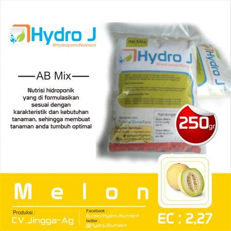 Harga Termurah Nutrisi Hidroponik Melon Ab Mix Hidro J nutrisi hidroponik ab mix melon kebun hidroponik