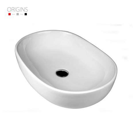origins oval countertop vessel basin without overflow uk