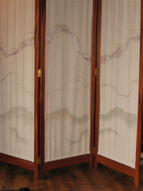 handmade room divider screen by jeff lind fine