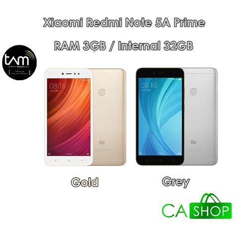 Xiaomi Note 5a Resmi Tam xiaomi redmi note 5a prime 32gb gold grey