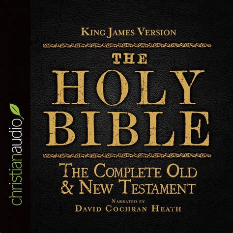 The Version by The Holy Bible In Audio Kjv Audio Bible