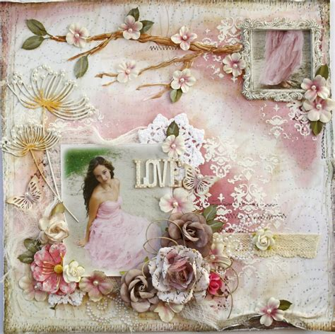 scrapbook page tutorial such a pretty mess some exciting news about my video