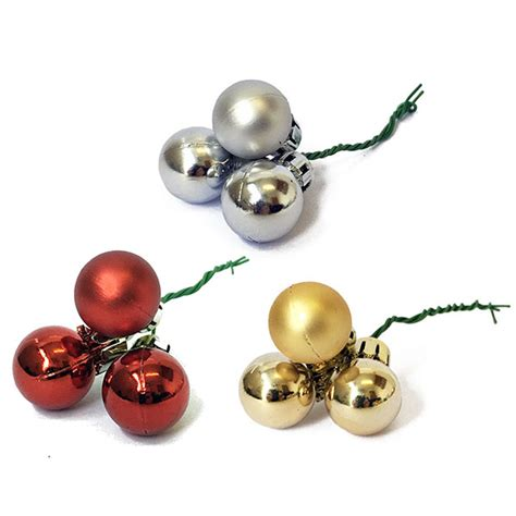 small christmas balls small shiny picks the essentials company
