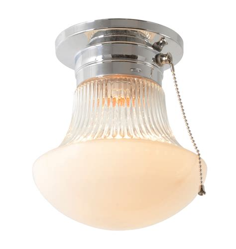 Pull chain ceiling light fixture for interesting illumination homesfeed
