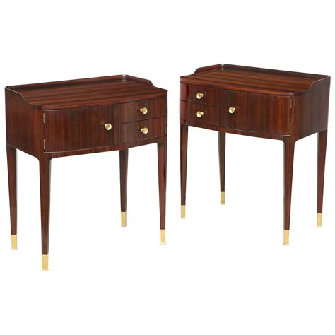 Fancy Bedside Tables Bedside Tables By Paolo Buffa At 1stdibs