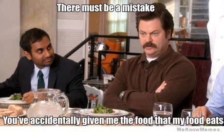 Salad Meme - ron swanson meme memes