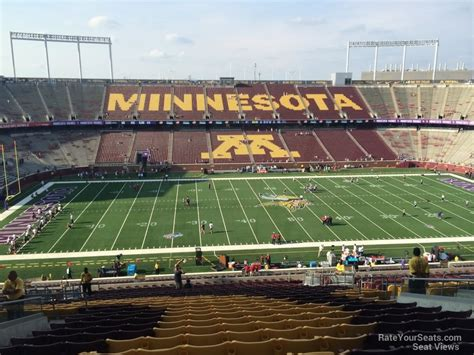 bank sections outdoor club tcf bank stadium football seating