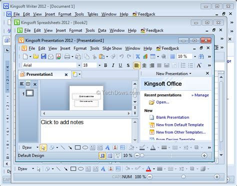 best collections kingsoft office suite 2012 free