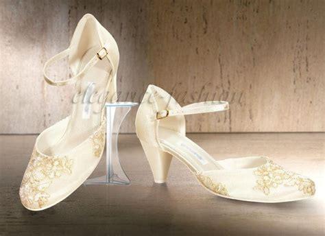 Hochzeitsschuhe In Creme by Brautschuhe Hochzeitsschuhe Mit Spitze