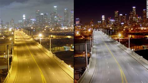 La Lighting by Cities Changing Streetlights To Improve Health Cnn