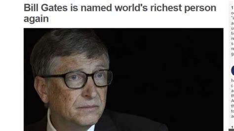 bill gates richest in the world 2015