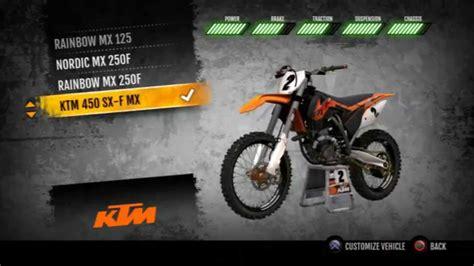 Does Ktm Still Make Atvs Mx Vs Atv Supercross Ktm 450 Sx F Fully Upgraded Hd