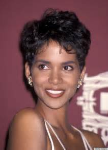 berry hairstyles in 1980 an ode to halle berry s pixie huffpost