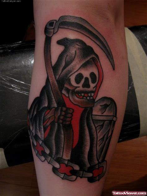 traditional grim reaper tattoo traditional grim reaper design viewer