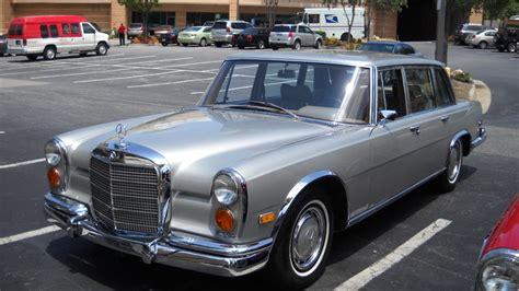 1970 mercedes 600 swb limousine s111 st charles 2012