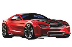 2015 ford mustang rendered by popular rodding