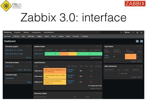 tutorial zabbix 3 0 zabbix 3 0 and beyond fisl 2015