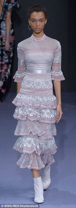 Catwalk To Carpet Gellar In Temperley by Kate Moss Sibling Lottie Moss Attends Topshop And