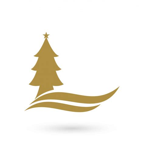 christmas tree logo christmas decore