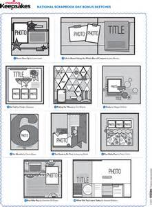 scrapbook layout templates 12x12 free printable scrapbook layout templates rachael edwards