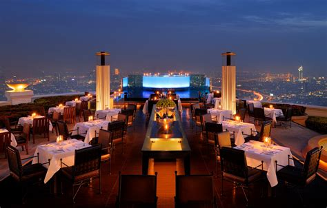 Roof Top Bar In Bangkok by Vertigo And Moon Bar Bangkok Inteerior