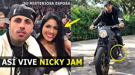 nicky jam y su esposa youtube as 205 vive nicky jam en miami 2018 con su misteriosa esposa