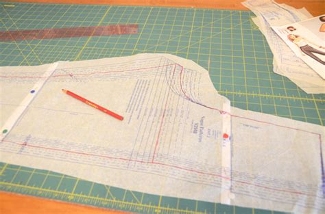 Pattern Paper For Sewing - sewing with patterns a muslin the seasoned