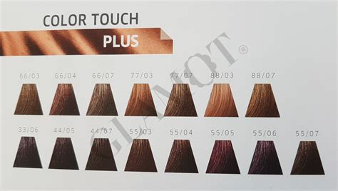 color touch wella wella professionals color touch plus semi permanente