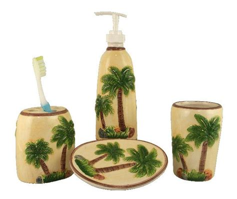 palm tree bathroom accessories 1000 images about palm tree bathroom decor on pinterest