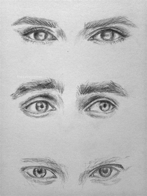 Mcgowan Almost Puts An Eye Out by Eye Drawing Tutorial The Golden Trio Harry Potter Amino