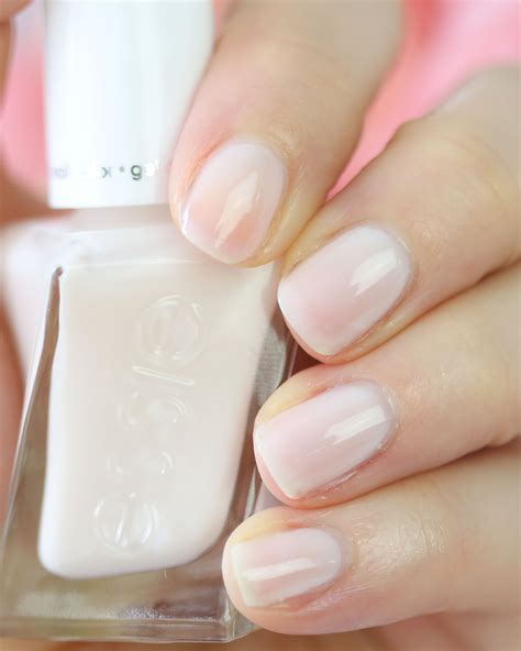 essie gel couture bridal x Monique Lhuillier   Nail That