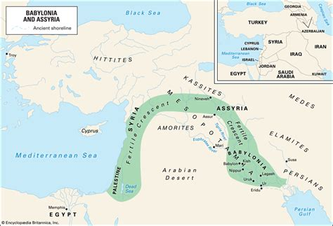 fertile crescent map fertile crescent region middle east britannica