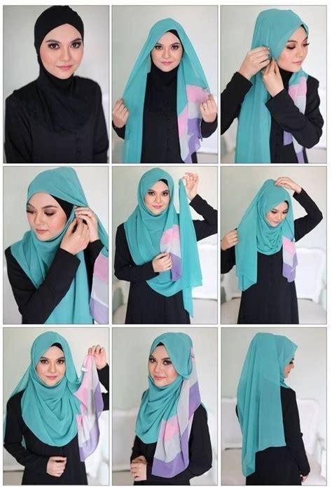 tutorial hijab ega d academy 17 best ideas about easy hijab tutorial on pinterest