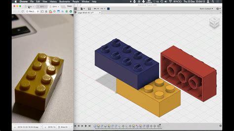 lego fusion tutorial fusion 360 lego brick beginner tutorial youtube