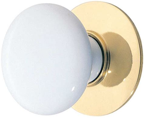 White Cabinet Knobs by Emtek White Porcelain Cabinet Knob Shop Cabinet
