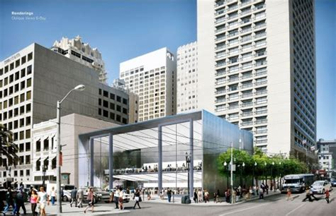 apple union square san francisco planning commission votes to accept flagship