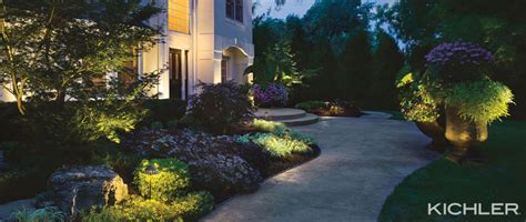 kichler lighting landscape think outside the box the secret to outdoor lighting
