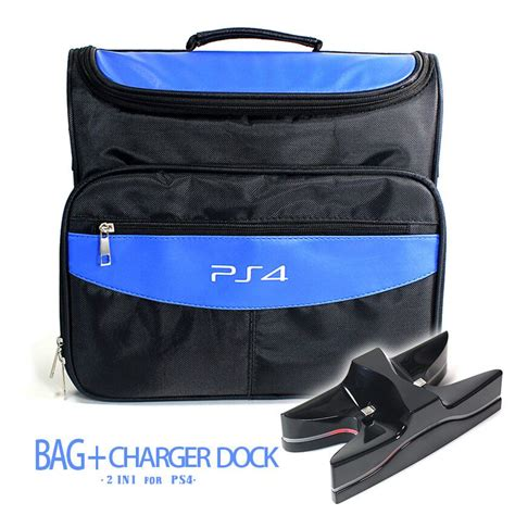 Slim Bag 4 ps4 ps4 slim travel carrying protective bag shoulder bag charging dock cradle station