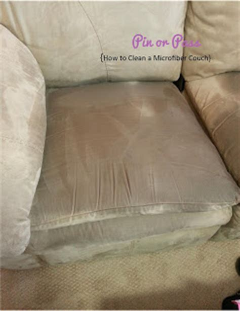 pin or pass how to clean a microfiber