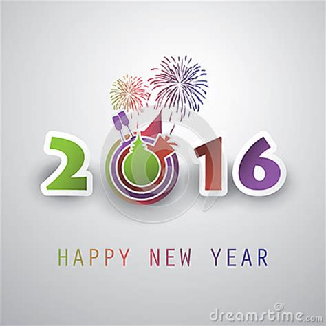 creative happy new year wishes best wishes abstract modern style happy new year