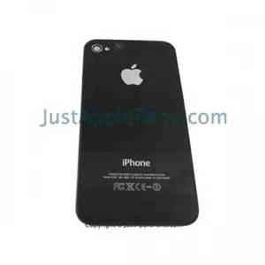 Iphone 4s back glass replacement cover black a1387