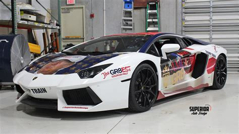lamborghini rally car lamborghini trumpventador the trump wrapped aventador