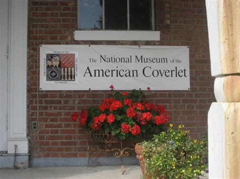 coverlet museum national museum of the american coverlet in bedford