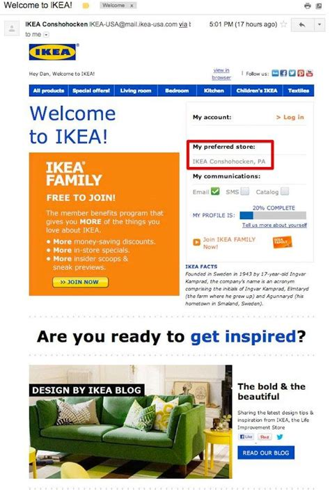 ikea mail how to write an effective welcome email exles