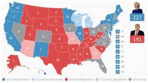 Election Map by Fox News Electoral Map Clinton Has 2016 Edge But Many