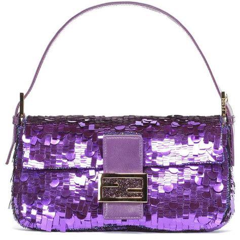 Tas Fendi 3 Baguette fendi baguette found on polyvore fendi fendi bags purple purse and chang e 3