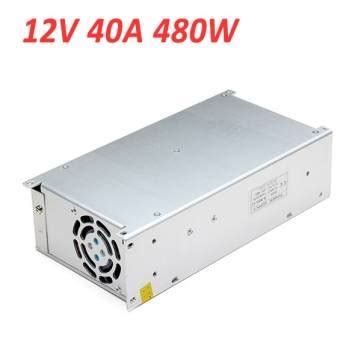 Swithing Power Supply 12v 40a High Kwaliti switching power supply 85 265v to 12v 40a 480w for led light sale banggood sold out