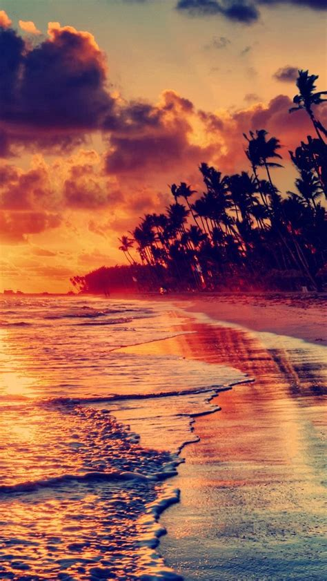 sunset beach iphone  wallpaper  iphone wallpapers ipad wallpapers  stop